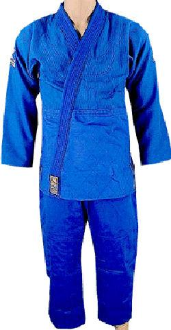 Double Weave Blue BJJ Uniform